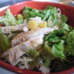 鳥一代 - ささみ入りのグリーンサラダ