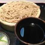 一徳庵 - かつ丼セットの冷たい蕎麦