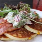 カフェ・ダウニー - 料理写真:california brunch pancake