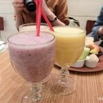 59122629 - ぶどうMIXジュース                       イチジク&MIXジュース 果物店のミックスジュース