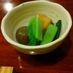 更科丸屋 - 冷酒セット(本日の1品)