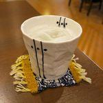 蔵カフェこまや - ドリンク写真:米ジュース 300円 甘酒とは違う、酸味のきいたさらさらジュース♪