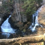 59123418 - 席から見える滝