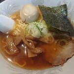 らーめん処かんむりや - 味玉ラーメン(750円)