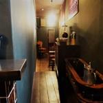 エスジェイオーコーヒー - この狭い空間が素敵なんです