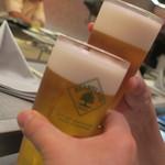 あもん ヨコ - 生ビール
