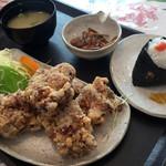 ごはん処 結 - 唐揚げ定食