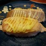 廻鮮寿し たいの鯛 - あぶりサーモン