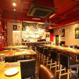 ◆二号店のプチ全貸切:着席20名様~立食最大30名様