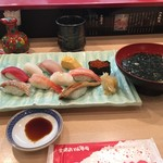 金沢まいもん寿司 - 北陸まんきつランチ