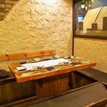 福島 桜屋 - 店内(テーブル席)