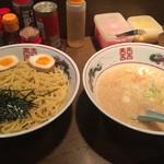 東京屋台らーめん 翔竜 - 玉子つけ麺(800円)