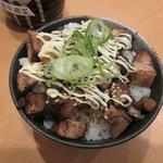 59130631 - 炙りチャーシュー丼(セット)2016.11.21