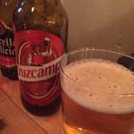 エスタシオン - スペインビールも置いてあります。