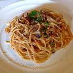 59131898 - 地産旬菜パスタランチコース*淡路牛ボロネーゼとキノコのスパゲッティーニ*