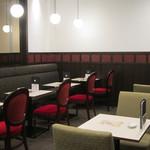 喫茶室ルノアール - 喫煙席