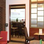 Cafeルノアール - 分煙自動ドア