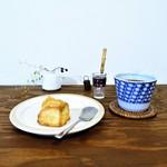 カフェ カプラ - 料理写真:バタースコーンセット