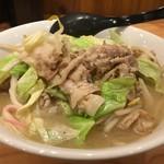 麺や壱真 - 野菜湯麺(750円)