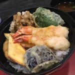 天ぷら わかやま - 日替わり天丼 アップ