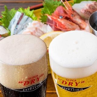 月とすっぽん -  冷たいビールで秋も乾杯!!