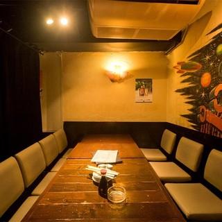 【大小個室あり】デートから、大人数のご宴会までお任せ下さい!