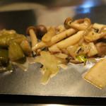 ステーキハウス華 - 野菜です