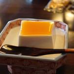 """泉新 - 豆腐だと思い、先に食べてしまった """"パンナコッタ"""" (笑)"""