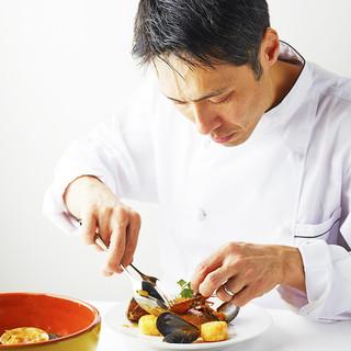 【Chef_増田昭夫】シェフがお届けする色鮮やかなお料理を