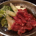 八馬 - 追加の肉&野菜
