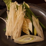 八馬 - 追加の野菜