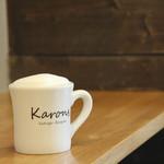 Vegan cafe and Bar Karons - コーヒー、ソイラテ、各ティー