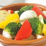 TUSK - 蒸し野菜 パプリカソルト添え