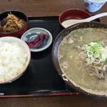 金森 - 料理写真:たら汁定食