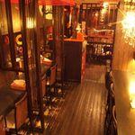 スープカリー ヒリヒリ2号 - 店内の可愛らしい飾り付けが魅力!
