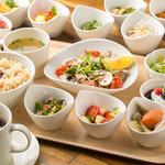ブック シェルフ カフェ - 日替わり玄米セット