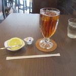 ツタヤ喫茶店 - アイスティ