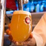 ブック シェルフ カフェ - 料理・ドリンク:常陸野ネストビール