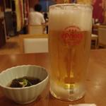 こてっぺん - タイムサービスのオリオンドラフト生ビール200円