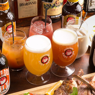 常陸野ネストビールやカクテルで楽しく乾杯を♪
