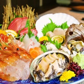 函館ならではの新鮮な海鮮