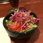 ステーキハウスれんが亭 - サラダ