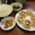 曽さんの店 - 餃子ライス
