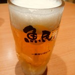 魚民 - 【2016.11.22(火)】生ビール