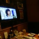 魚民 - 【2016.11.22(火)】個室にあるテレビ