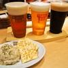 ヱビスバー - 料理写真:飲み比べセットL + おとなのポテトサラダ
