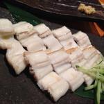 魚真 - 穴子白焼き
