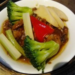 59157874 - 鶏と野菜の謎料理(笑