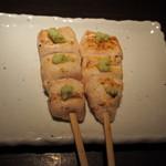 鶏天 - ささみわさび(静岡産本わさび使用)