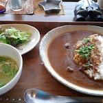 珈琲店 蒼 - 牛すじカレー ¥750